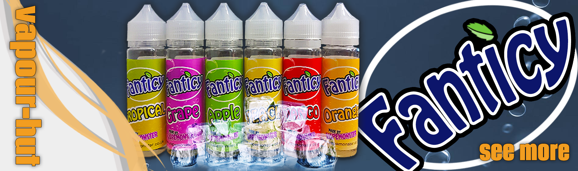 Fanticy Shortfill E-Liquid at Vapour Hut