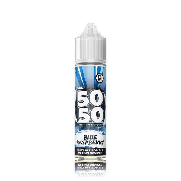50 50 Short Fill E-Liquid Blue Berry 50ml 1
