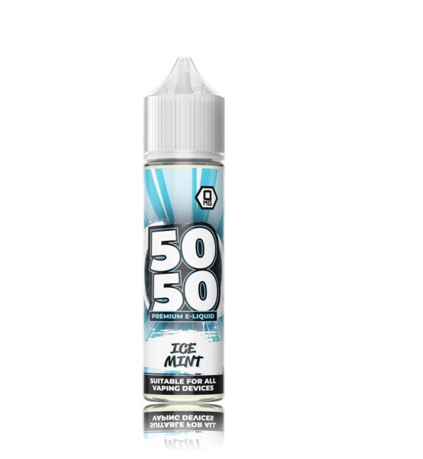 50 50 Short Fill E-Liquid IceMint 50ml 1
