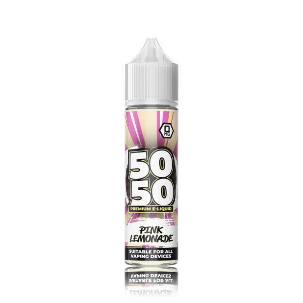 50-50-Short-Fill-E-Liquid-PinkLemonade-50ml 1