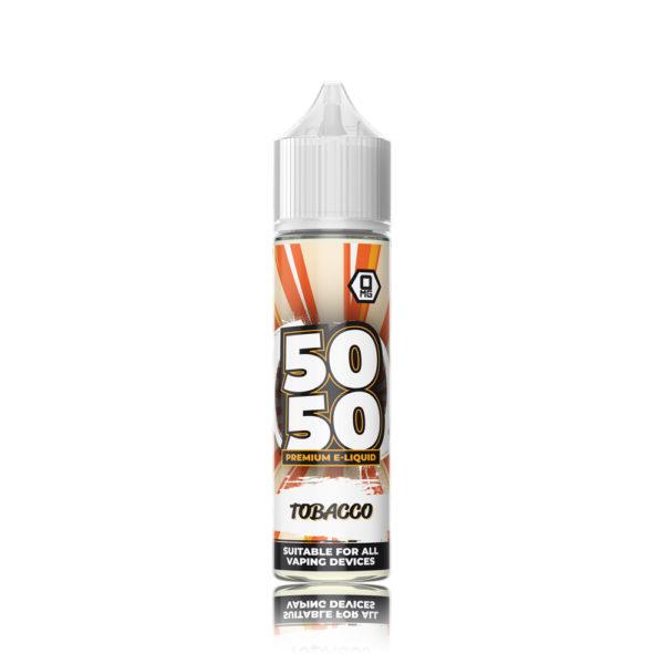 50-50-Short-Fill-E-Liquid-Tobacco-50ml 1
