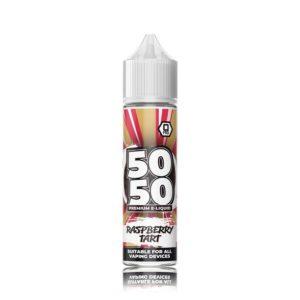 50 50 Raspberry Tart E Liquid