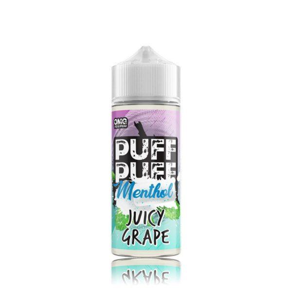 Juicy Grape menthol E Liquid